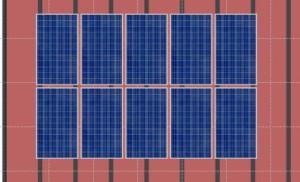 PV 2,60 KWp IBC Solar polySol 260ZL